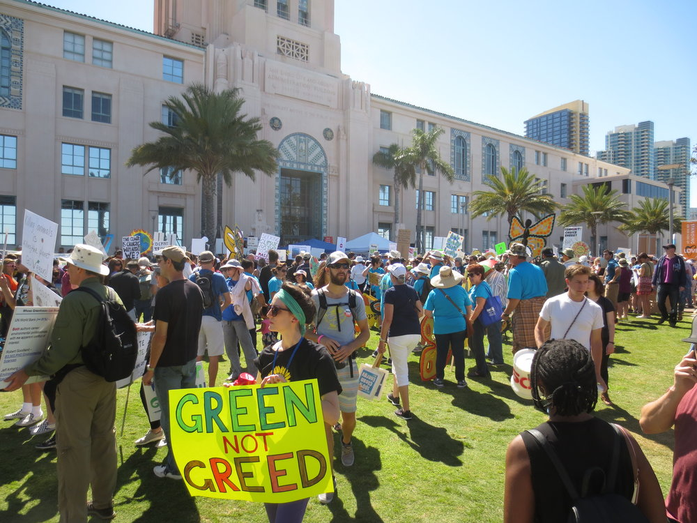 Climate March - San Diego - April 29, 2017
