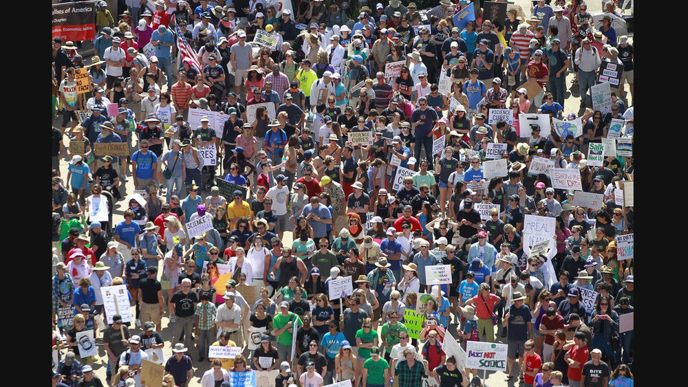 March for Science - San Diego - April 22, 2017