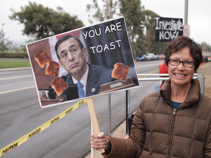 Issa Is Toast Rally - Vista - May 30, 2017