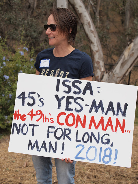 Issa: Trump's Yes Man Rally - Vista - June 6, 2017