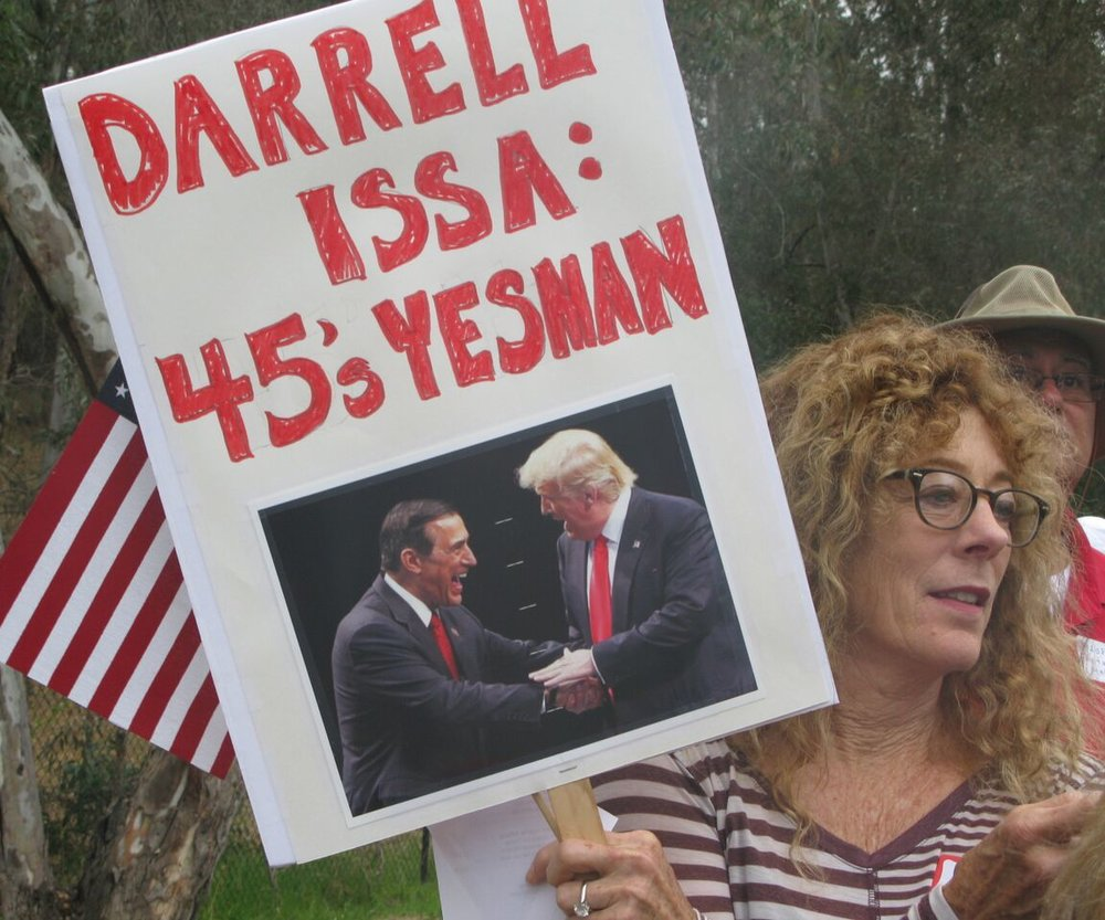 More from Issa:  Trump's Yes Man Rally - Vista - June 6, 2017