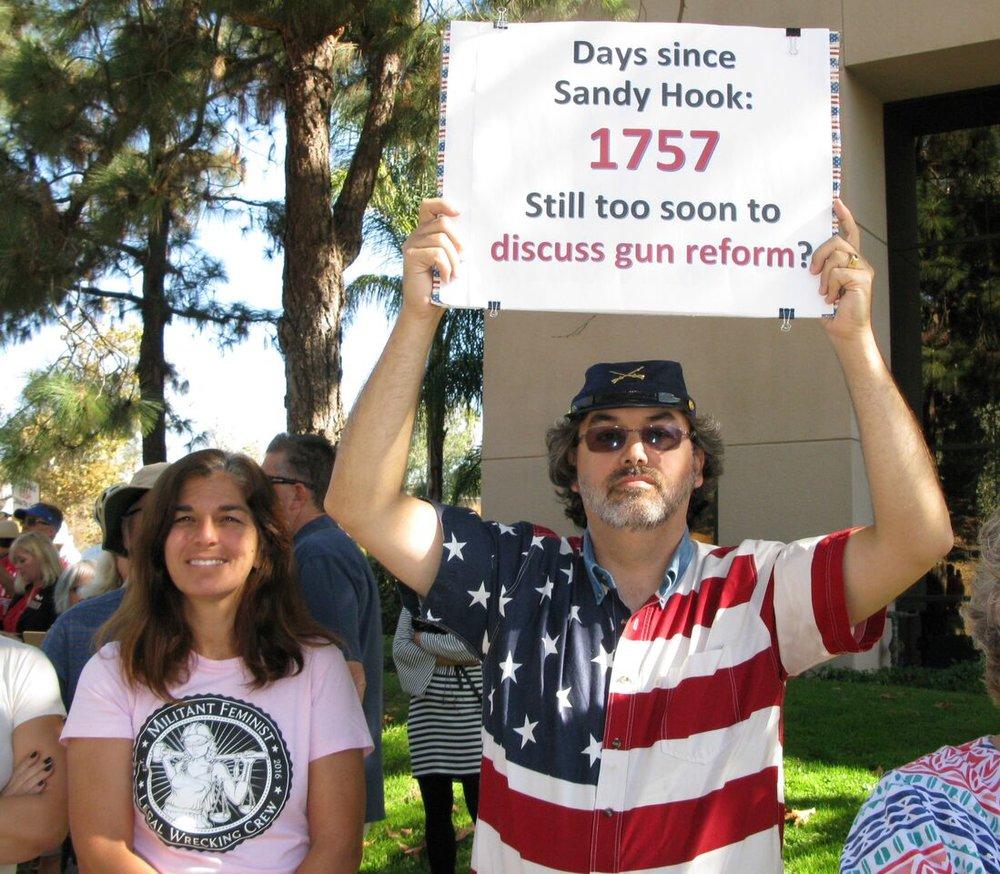 Gun Control Rally - Vista - October 10, 2017
