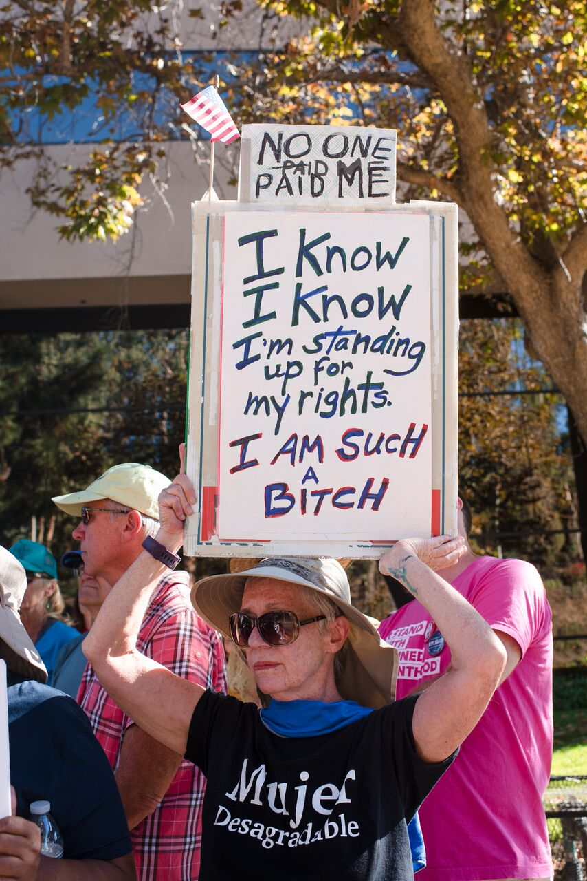 More From The War On Women Rally - Vista - October 24, 2017