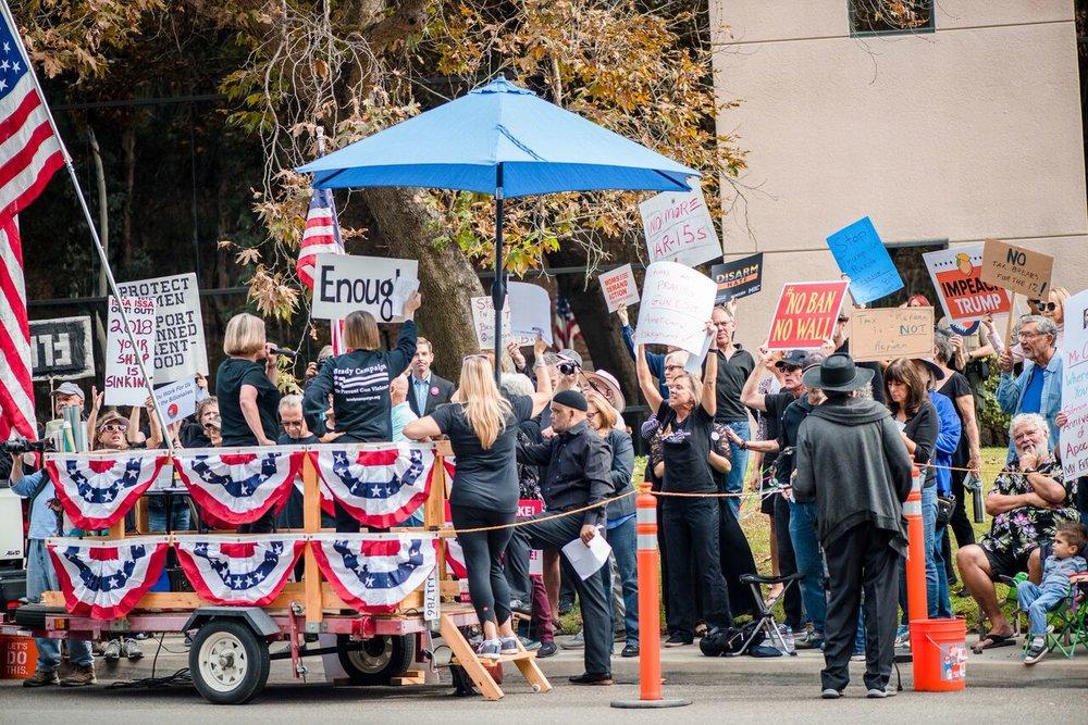 The Uncelebration Rally - Vista - November 7, 2018