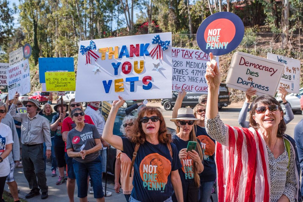 More From Honoring Veterans & More Rally - Vista - November 14, 2017