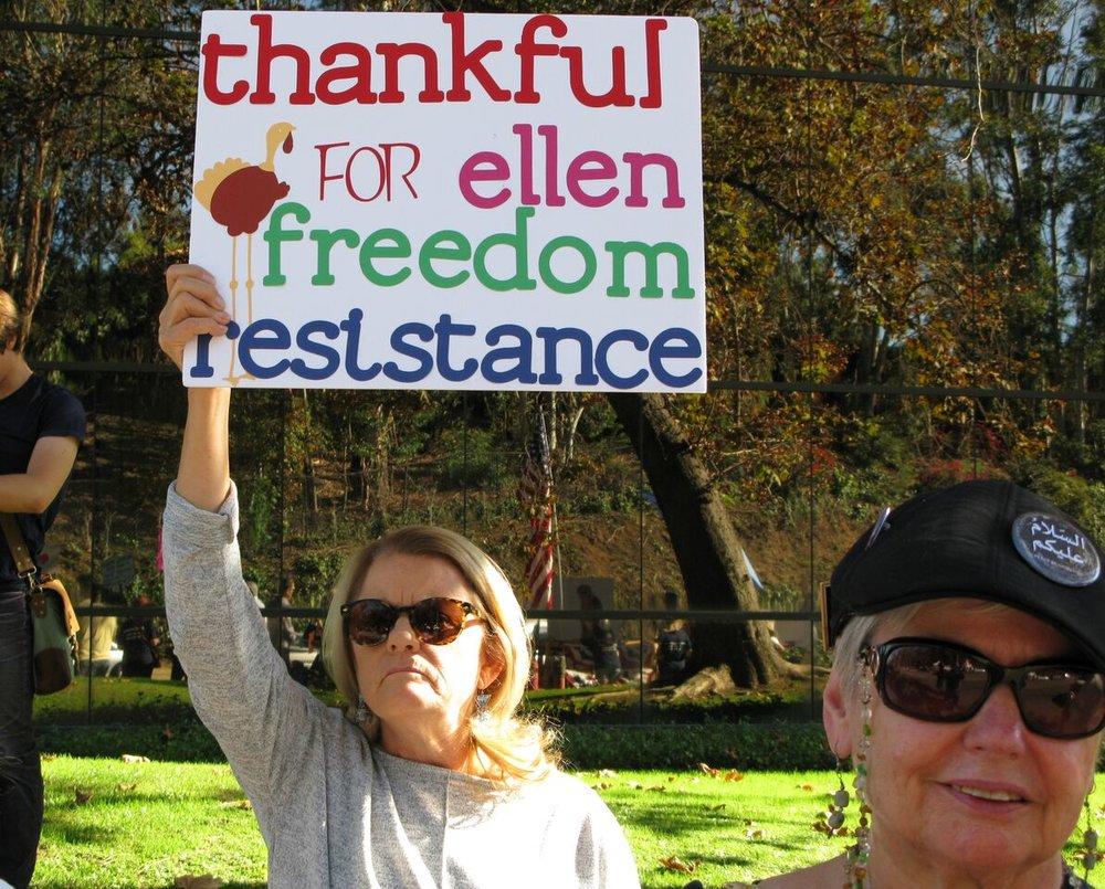 We Are Thankful Rally - Vista - November 21, 2017