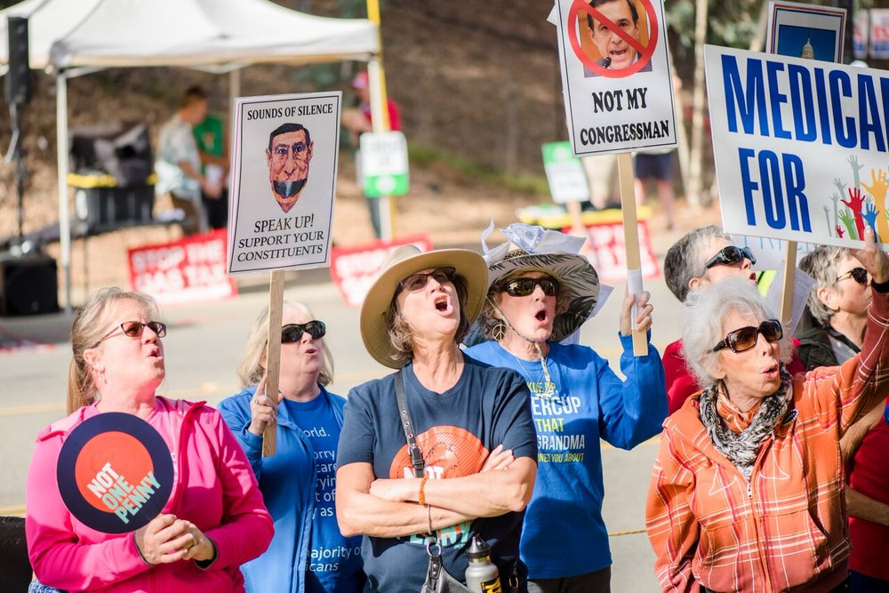 More From Congress, Do Your Job! Rally - Vista - November 28, 2017