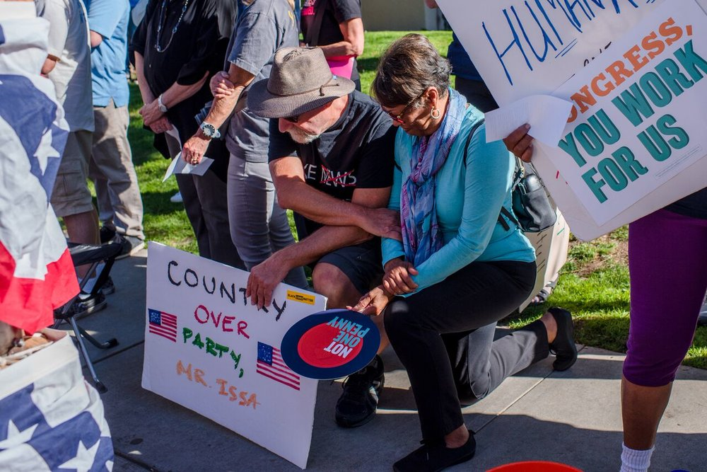 The Resistance Is Working Rally - Vista - December 12, 2017