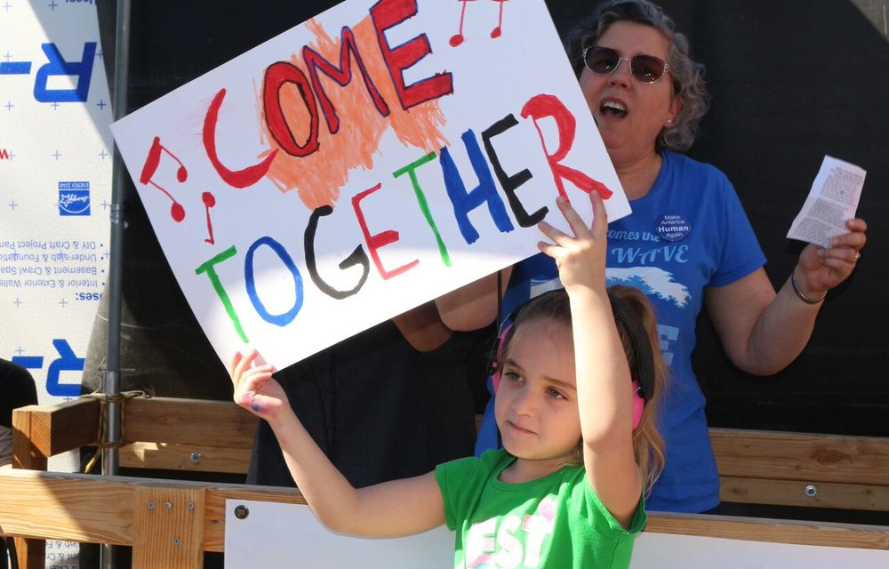 Come Together Rally - Vista - March 6, 2018