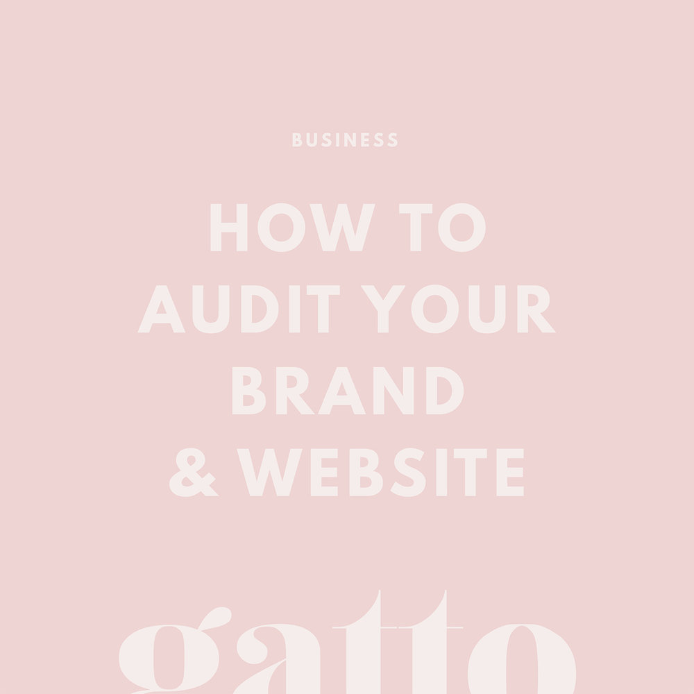 Branding | Website Audit | Small Biz | Creative Business