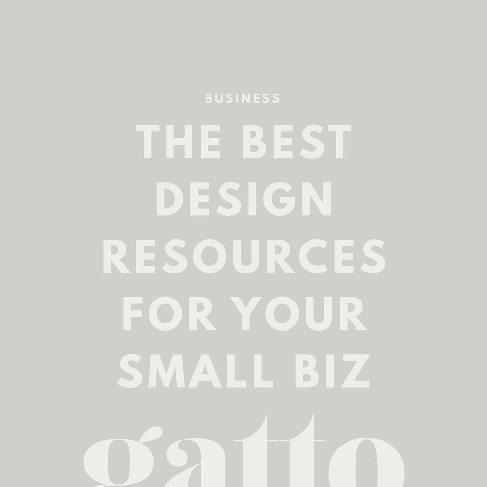 Design Resources | Creative Business | Branding & Website Design | Small Biz