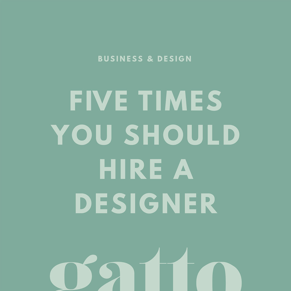 Hire A Designer | Branding & Website Design | Creative Business | Small Biz