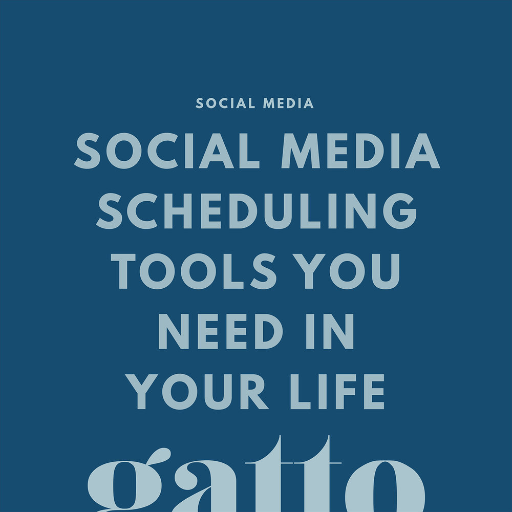 Social Media Scheduling Tools | Creative Business | Small Biz | Branding Web Design