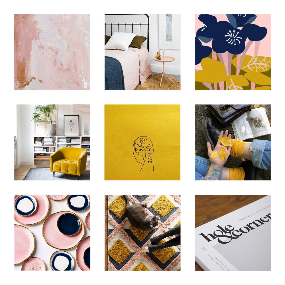 Mood Board Creation | Brand DIY | Branding for Website and Branding Studio | Gatto Web