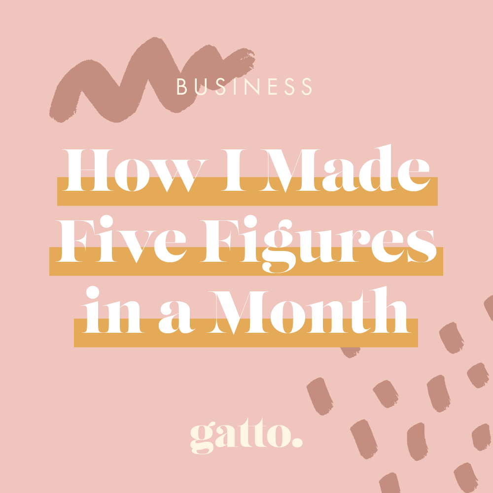 How I Made Five Figures In A Month And Why You Should Ignore Me
