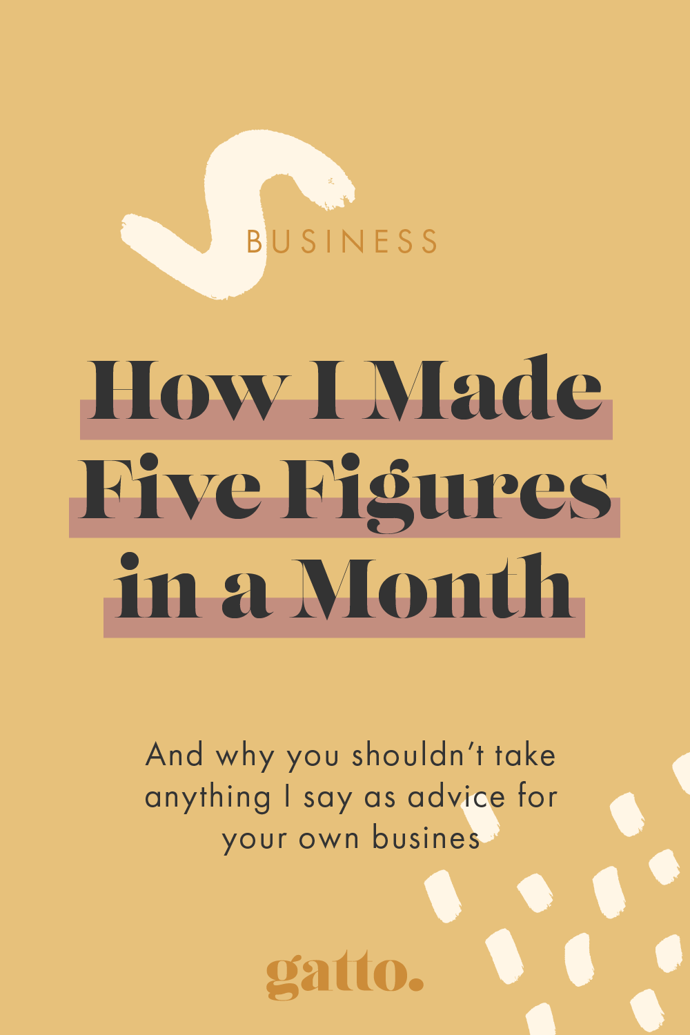 How I Made Five Figures in a Month | Creative Design Business | Small Business Tips