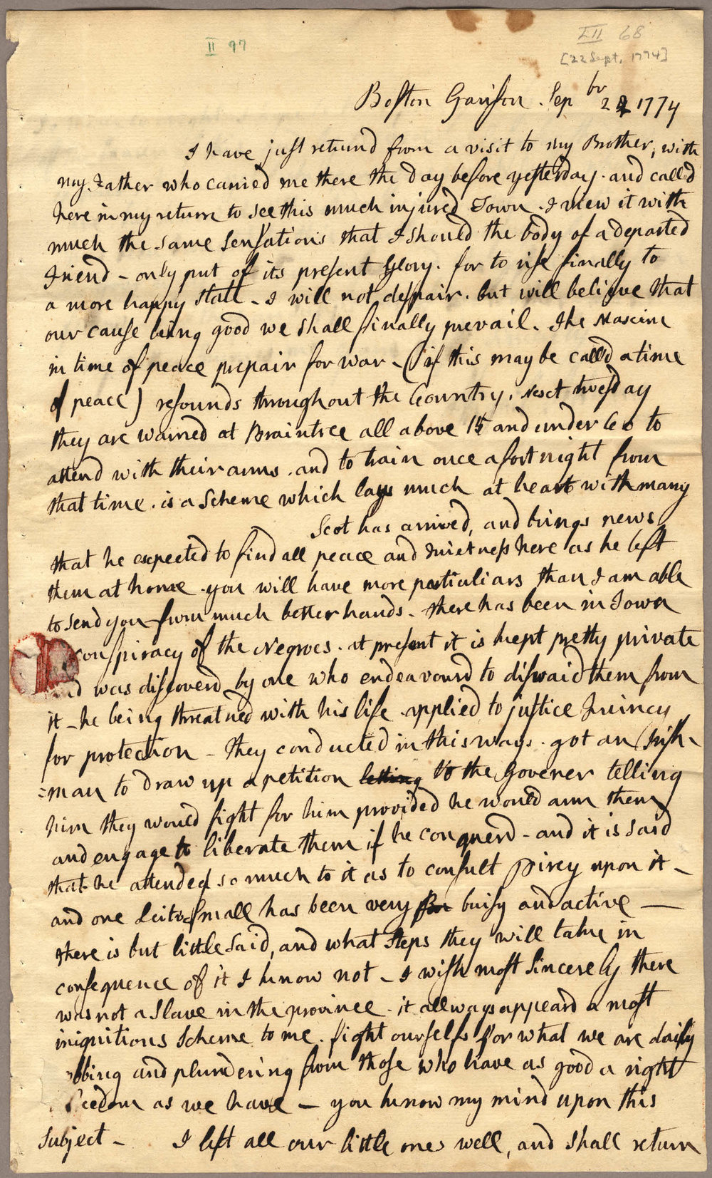 an analysis of the use of metaphor in abigail adams letter of mother to son Original manuscript: adams, abigail letter from abigail adams to john adams, 31 march - 5 april 1776 4 pages original manuscript from the adams family papers.