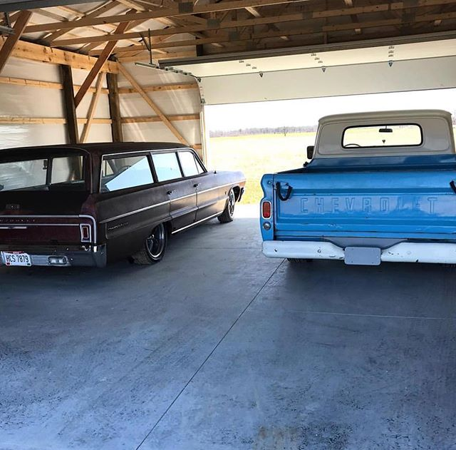 Which would you drive? 📸 @haterhotrods #ridlerwheels #classiccars