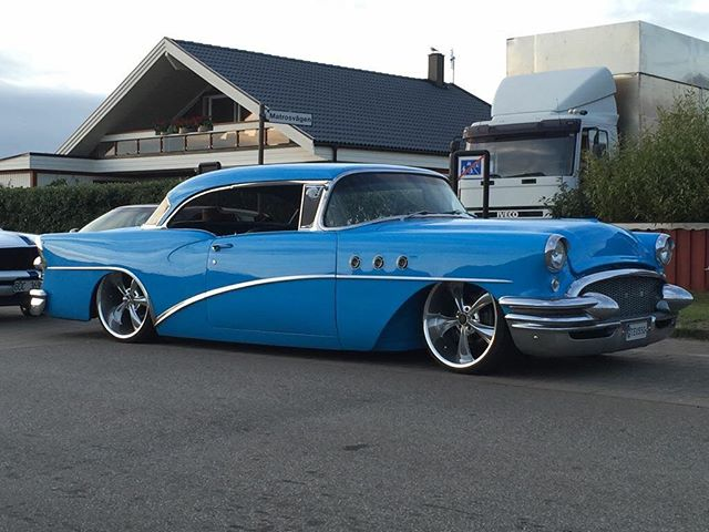Killer 55' Buick Special! #ridlerwheels #bagged #buick #special #55