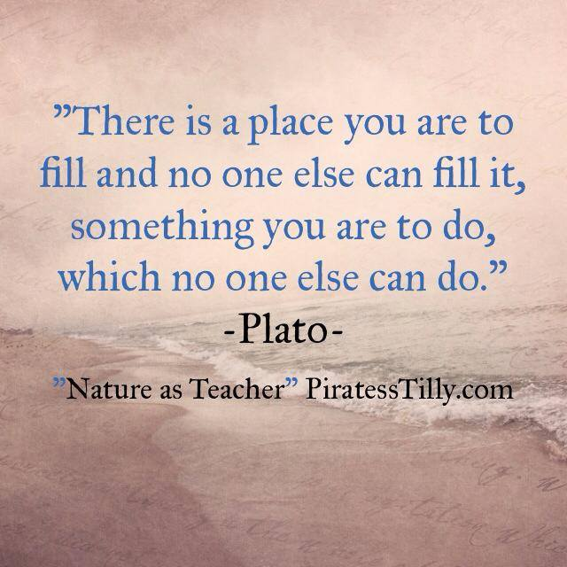 "Adventures of ""Piratess"" Tilly picture book, Plato Quote"