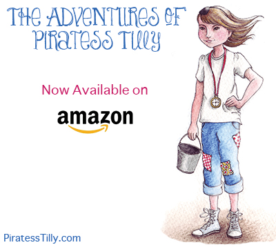 Piratess Tilly is on Amazon