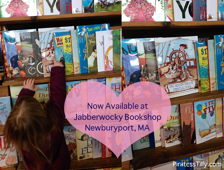 Piratess Tilly Jabberwocky Bookshop Newburyport