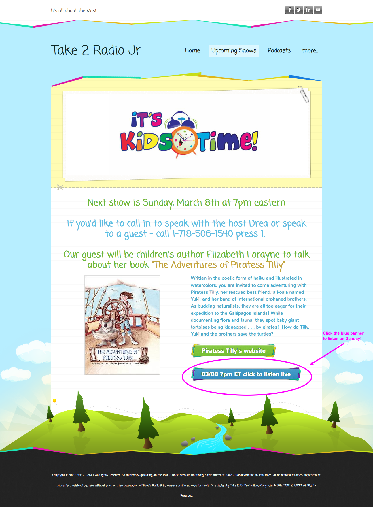 Piratess Tilly Upcoming Shows - Take 2 Radio Jr 2015-03-05 09-23-19