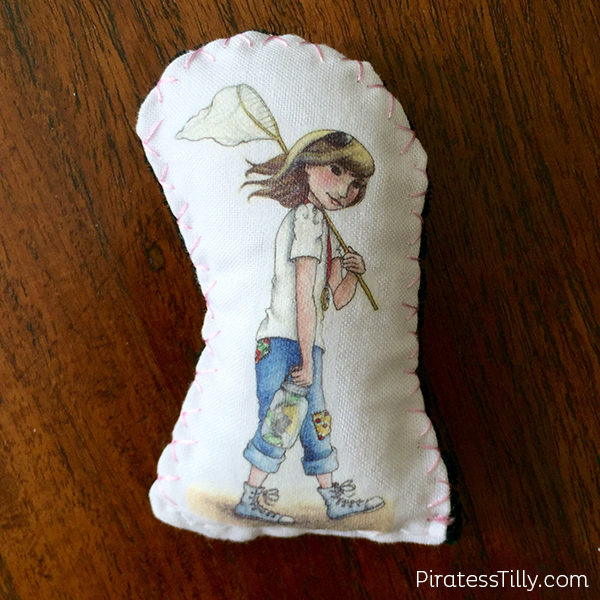 Piratess Tilly Hand Sewn Doll