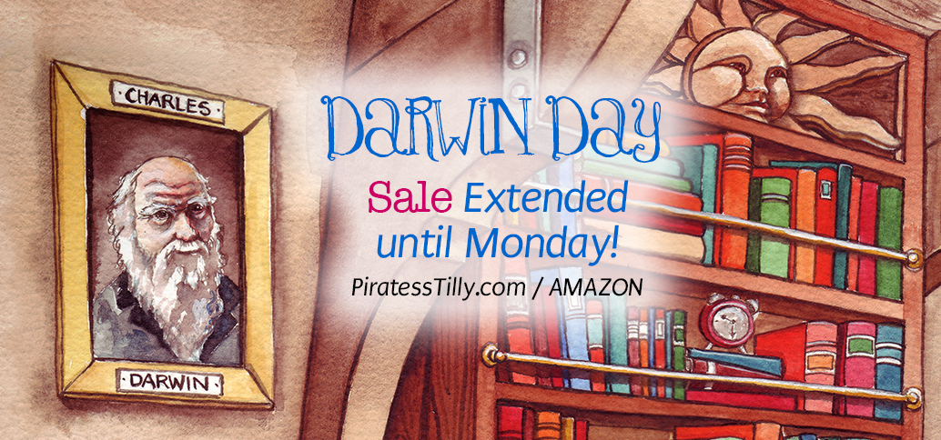 Darwin Day Sale Extended