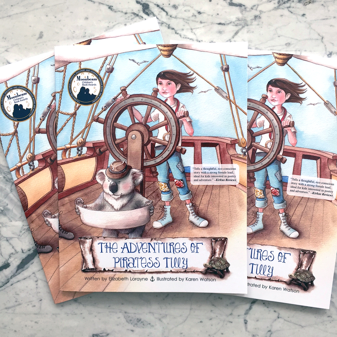Softcover Piratess Tilly Give-away