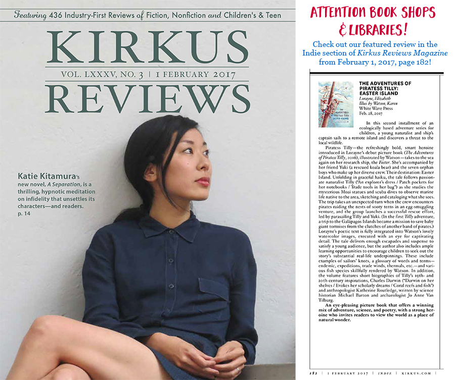 Featured in 2/1/17 edition of Kirkus Reviews Magazine! — The