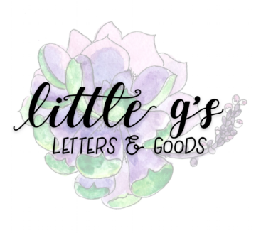 little g's letters & goods