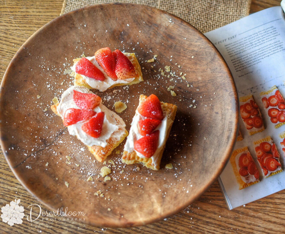 Strawberry Tartlet from Magnolia Magazine