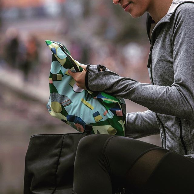 Add our waterproof kitbag to your 'workout essentials' list this holiday.  #workout #fitness #active #activewear #gym #fit #yoga #surf #socialenterprise #sweat #women #bag #surfing #bikram #whomademyclothes #saynotoplastic #waterproof #sustainable #sweatproof #splashproof #charity