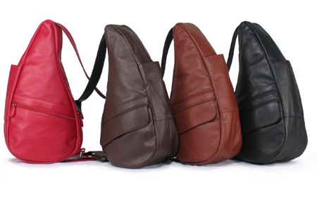 An assortment of Ameribag's Leather Collection