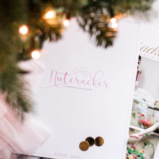We love December and celebrating this season of dance! Click the link in our profile to enter to win a giveaway for a free copy of this curriculum pack! . . . . . #nutcracker #ballet #curriculum #preschool #dance #guide #giveaway #free #tinydancer #christmas