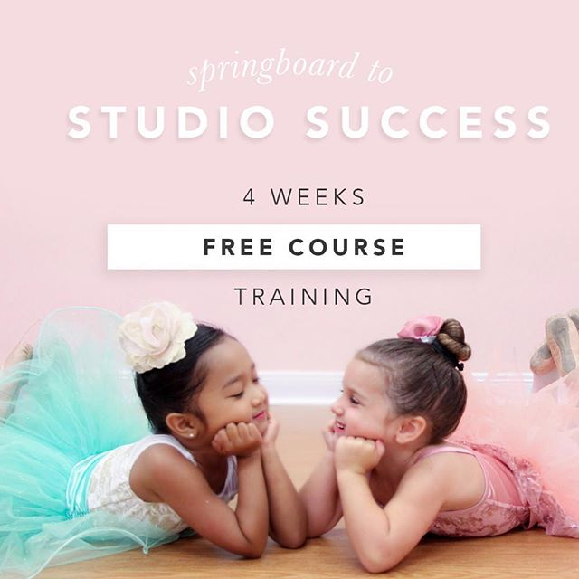 We are SO excited to launch Springboard to Studio Success!  Email us at info@tippydance.com for your free e-course!  This week we are diving into prepping your studio, success systems, and on boarding strategies. Join the conversation in our private Facebook group! Link in profile!  #dance #danceteacher #teachersofinstagram #teachersfollowteachers #ballet #tinydancer #curriculum #lessonplans #studioowner