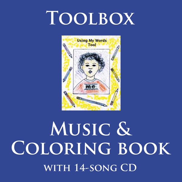 Toolbox: Music and Coloring Book for children, parents and teachers