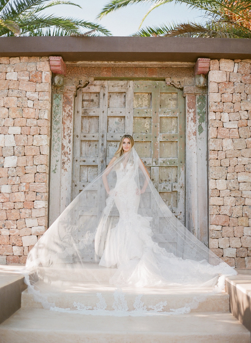 Pnina Torn wedding dress, ibiza wedding planner
