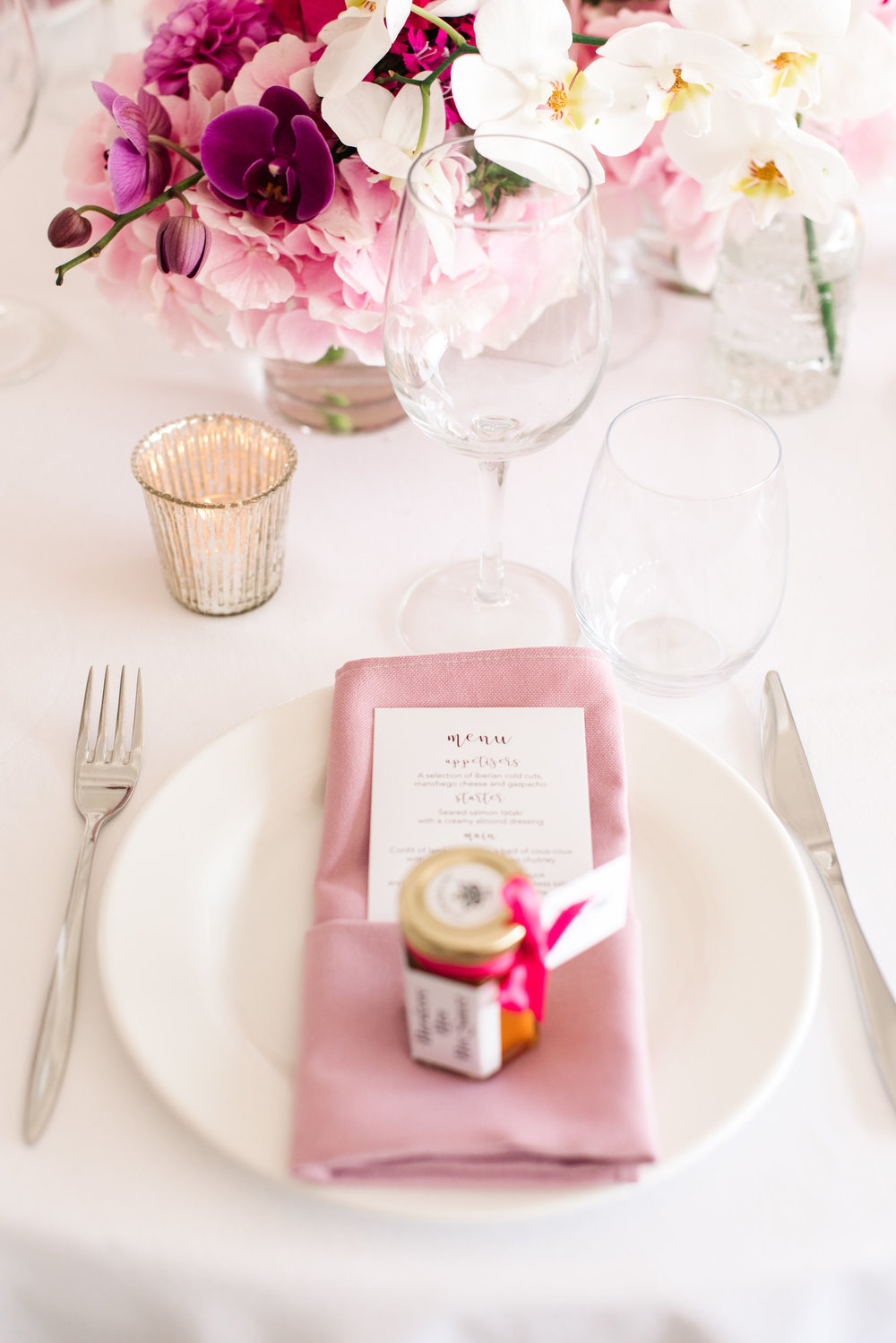 wedding table inspiration, wedding flowers, pinks