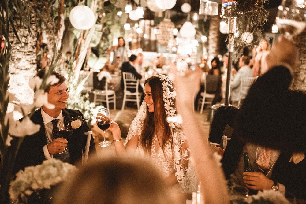 wedding dinner, ibiza wedding planner