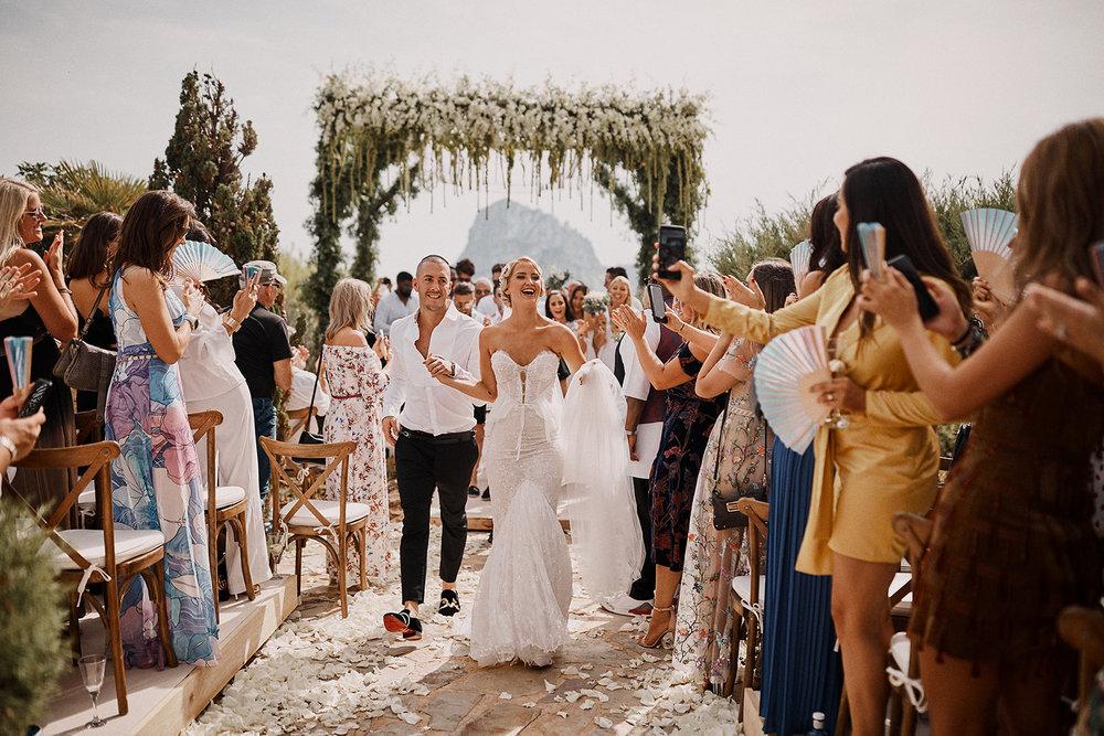wedding day ibiza
