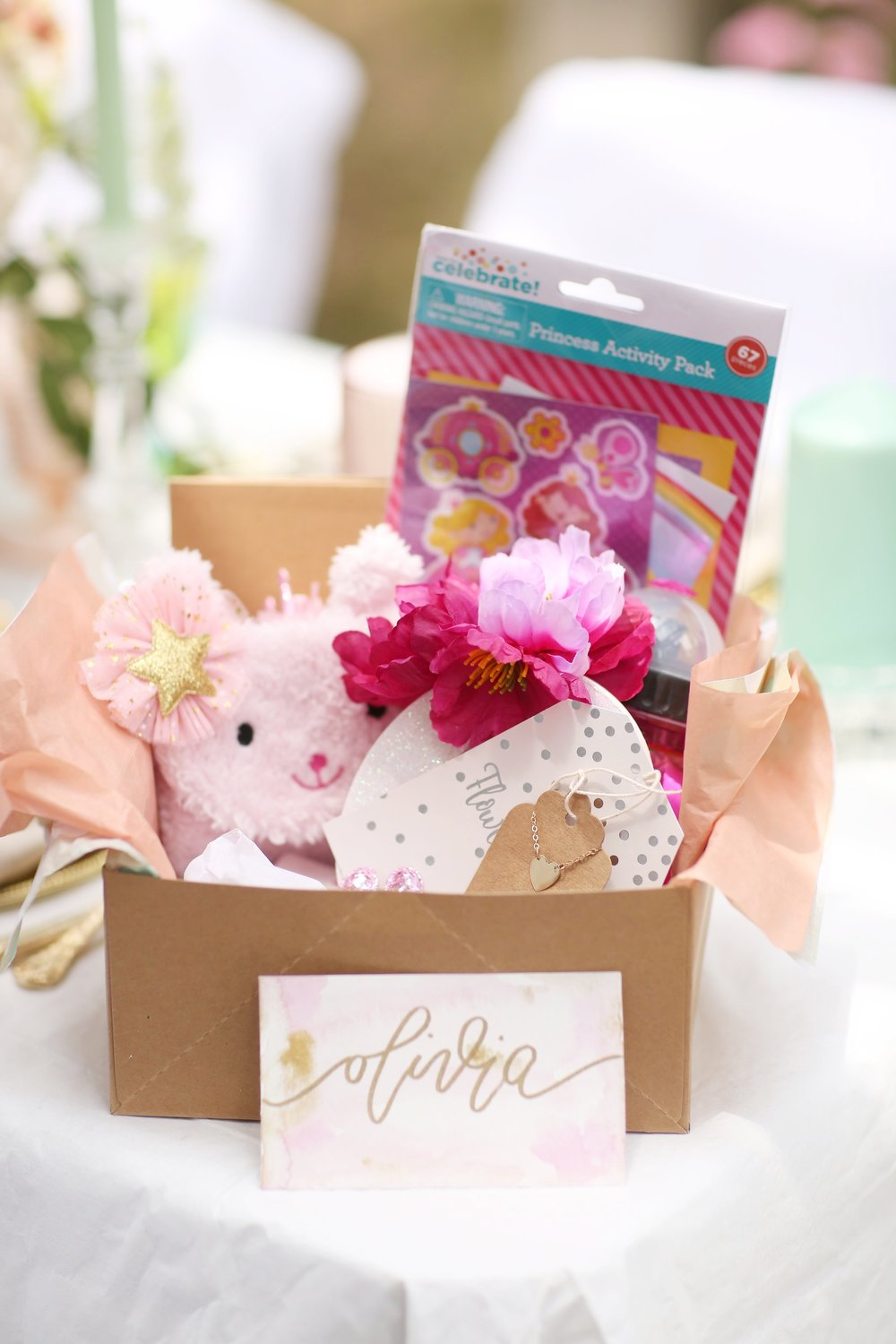 DIY Flower Girl Proposal Gift Boxes — FEAST.FASHION.FAVES