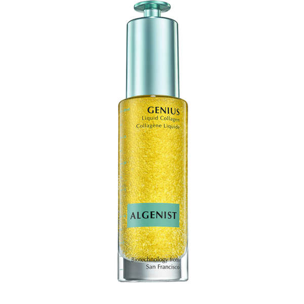 GENIUS Liquid Collagen™ $115 - The key to restored skin resilience is in this amazing bottle filled with the first ever, vegan based collagen formulation. There are 13,000 beads of Microalgea Oil which help to hydrate and nourish the skin; and it definitely does that for my skin. I also can't get over the scent which smells like a fresh marine air (but not fishy) fragrance. The dropper application is also great for dispensing the right amount into my hand to apply to my face - which I do once in the morning and once at night after cleansing. Get yours here.