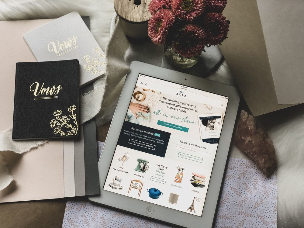 Using Zola For Your Wedding Planning Registry Needs Feast