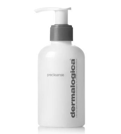 precleanse - Deep-cleansing oil melts impurities and make-up from skin. Achieve ultra clean and healthy skin with the Double Cleanse regimen that begins with PreCleanse. Thoroughly melt away layers of excess sebum (oil), sunscreen, waterproof make-up, environmental pollutants and residual products that build-up on skin throughout the day with skin fortifying Kukui and Apricot oils. Add water to transform this hydrophilic (water-loving) formula into a milky emulsion that easily rinses debris from the skin's surface, allowing your prescribed Dermalogica Cleanser to penetrate even further for professional cleansing results. Formulated with conditioning Rice Bran and Vitamin E oils, this gentle blend can be used around the eye area to even remove waterproof mascara. Offers a deep cleansing ideal for even the most oily skin conditions.