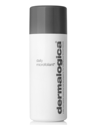 daily microfoliant - Gentle, daily use exfoliating powder for all skin conditions. Unique Rice-based powder formula activates upon contact with water, releasing Papain, Salicylic Acid and Rice Enzymes that micro-exfoliate dead cells, instantly leaving skin smoother and brighter. Our unique Skin Brightening Complex helps to balance uneven skin pigmentation while a super-soothing blend of Green Tea, Ginkgo and Colloidal Oatmeal helps to calm the skin, leaving it extraordinarily clear and refreshed. Gentle enough to use on a daily basis. Not recommended for users of medically-prescribed exfoliation products.