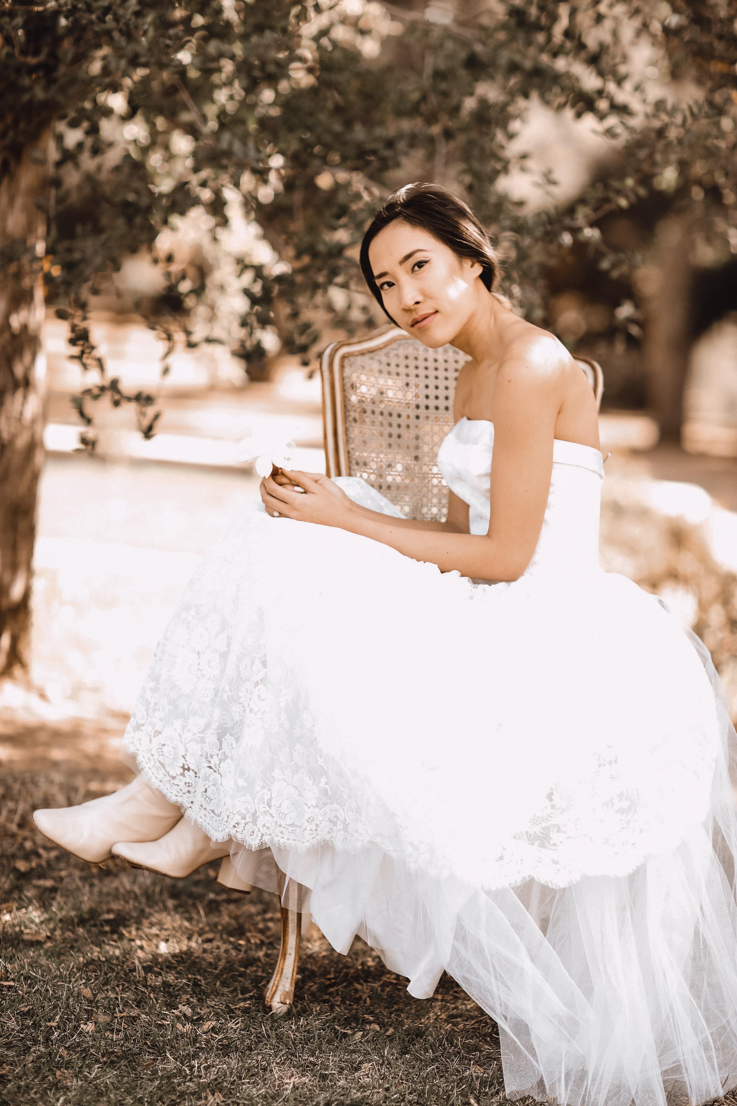 398fc7d0b196 Jean Jacket Over Wedding Dress
