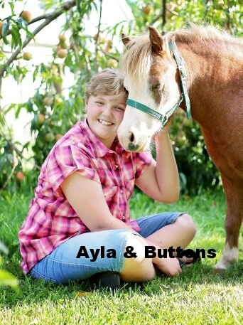 Ayla and Buttons