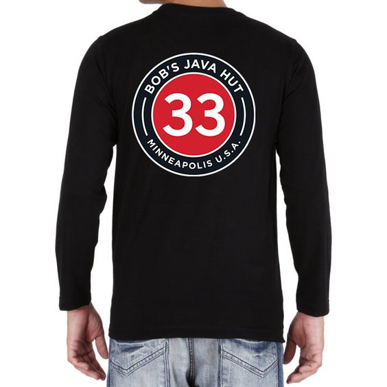 33/Back Long Sleeve - $25.00